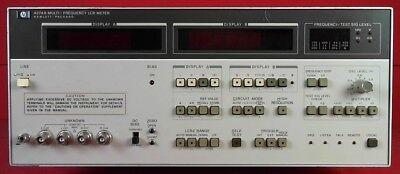 Hp - Agilent - Keysight 4274a Lcr Meter Multi-frequency