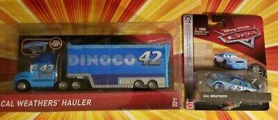 Disney Pixar Cars 3 Cal Weathers' Scavenger Hunt Dinoco Hauler Semi Truck  READ