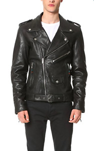Brand New Leather Jacket (BLK DNM)