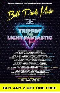 BALL PARK MUSIC  2014  Australian Laminated  Tour Poster