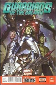 GUARDIANS OF THE GALAXY #1 LIMITED EDITION VARIANT MARVEL COMICS FIRST PRINT