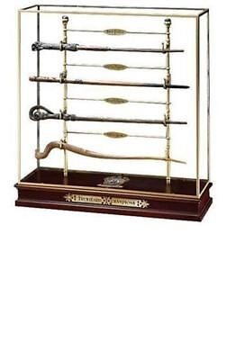 HARRY POTTER LICENSED TRIWIZARD CHAMPION DISPLAY 4 WAND SET KRUM DIGGORY FLEUR