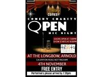 Comedy fundriaser free tickets