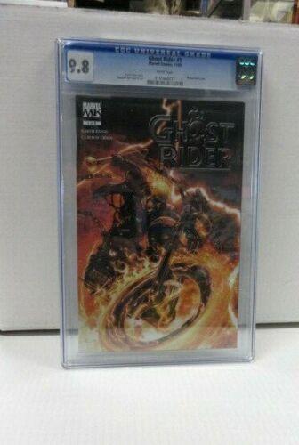 Ghost Rider #1 CGC Universal Grade 9.8
