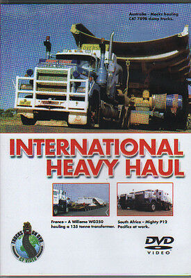 Truck Rotran Pacific Mack DVD: INTERNATIONAL HEAVY HAUL for sale  Driffield
