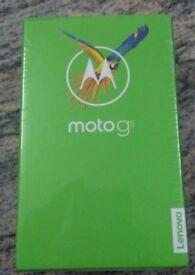 **SEALED** MOTOROLA G5 MOBILE PHONE BRAND NEW, SIMFREE, ALL NETWORKS, 1 YEAR WARRANTY. MOTO G 5