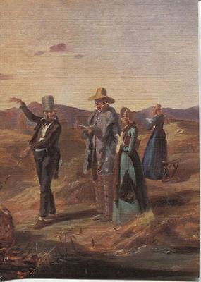 Alte Kunstpostkarte - Engländer in der Campagne von Carl Spitzweg