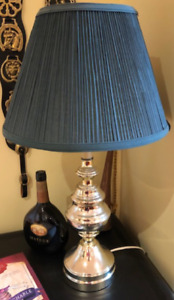 Two Green bedroom lamps