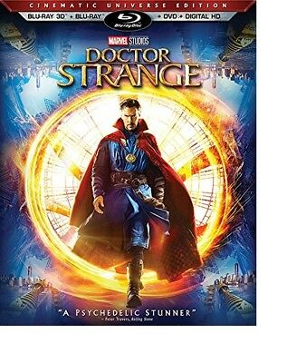 Doctor Strange 3D  Used  Blu Ray Only Disc Please Read