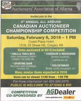 6th Annual Canadian All Around Auctioneer Championship