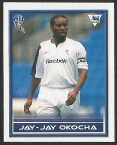 Merlin-2006-Premier-League-Quiz-Backs-052-BOLTON-WANDERERS-JAY-JAY-OKOCHA