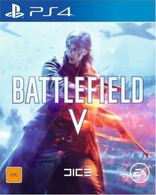 Battlefield 5 V - PS4 Playstation 4 Spiel - NEU OVP