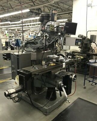 Bridgeport Ez-trak Sxii Cnc Vertical Mill - 28413