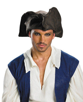 Used, Morris Costumes Men's Jack Sparrow Polyester Pirate Hat Brown One Size. DG18779 for sale  USA