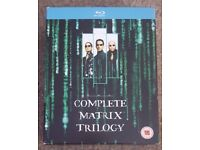 The matrix trilogy blu rays