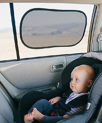 Prince Lionheart Static Cling Car Window Sunshade Baby Sun Screen Shade - 2 pack