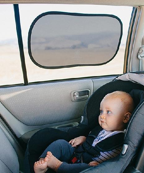 Prince Lionheart Static Cling Car Window Sunshade Baby Sun Screen ...