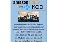 Amazon Firestick Fully Loaded with Kodi 2017 Version
