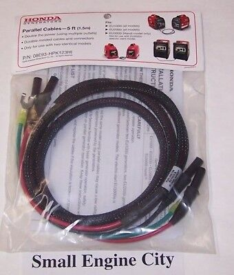 Pet-354 Genuine Honda Parallel Connecting Cables - 5 Ft For Eu1000i Eu2000i