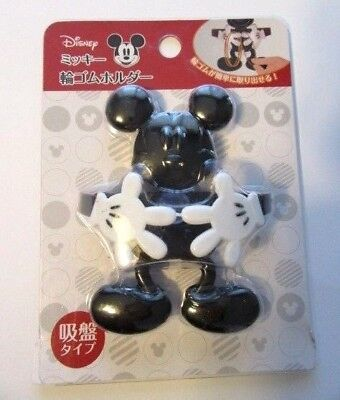 Disney Mickey Mouse Rubber Band Holder Cute item Japan  - Mickey Mouse Items