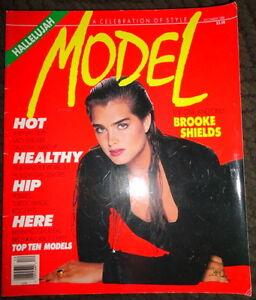 Vintage-Model-12-1988-Brooke-Shields-Johnny-Depp-Lingerie-models-Pebbles-Guess