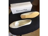 ivory bridal shoes size 9 (43)