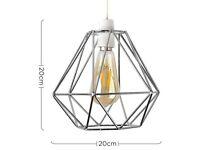 Chrome lampshade - Metal