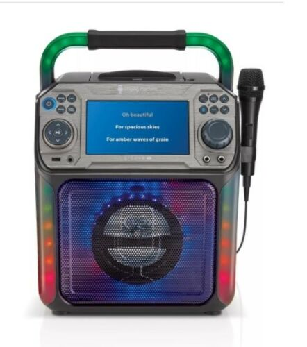 karaoke singing machine with light  New