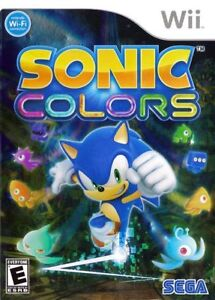 Sonic Colors- Wii Game
