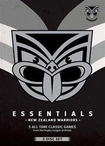 NRL - Essentials - New Zealand Warriors (DVD, 2013, 3-Disc Set)