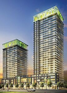 STUDIO SUITE AVAIL. ACROSS FROM SQUARE ONE, LIMELIGHT CONDO!