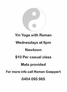 Yin Yoga with Roman Geelong Geelong City Preview