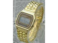 New Mens Classic Metal 80's Vintage Watch