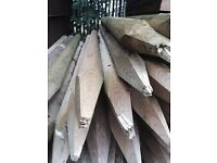 Poles/Stakes New & Kiln Dried