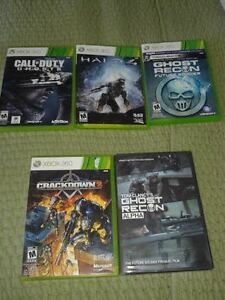 XBOX 360 GAMES - EXCELLENT CONDITION