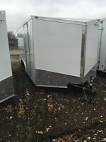 New Stealth 8.5x20 Enclosed Trailer V Nose 3 Year Warranty