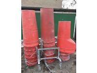 Scaffold chute/rubbish