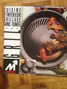 NEW INDOOR BBQ grill
