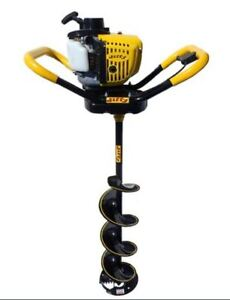 Jiffy Ice Drill Gasoline Powered Ice Auger