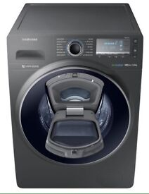 ***BRAND NEW Samsung AddWash 9kg 1600 spin washing machine for SALE with 5 years guarantee***