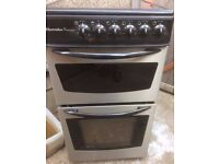 ELECTROLUX BLACK/STAINLESS STEEL 50cm ELECTRIC COOKER, EXCELLENT CONDITION 4 MONTHS WARRANTY