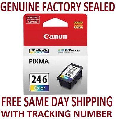 NEW Genuine Canon CL-246 Color Ink Cartridge-OEM Cartridge-Manufacturer Sealed!!
