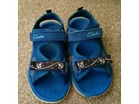 Boys sandals 7 1/2 Clarks