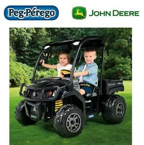 NEW PEG PEREGO GATOR RIDE ON TOY IGOD0093 201727112 12V JOHN DEERE XUV
