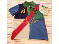 Joules polo shirt age 6