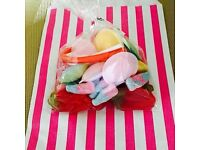 10 x Pick & Mix Bags. Kids Party. Kids Treats. Favors. Sweet bags. Candy.