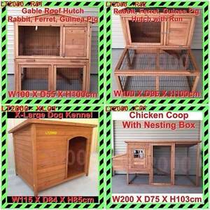 Rabbit Hutch, Guinea Pig Hutches, Chicken Coop and Dog Kennel Rosewater Port Adelaide Area Preview