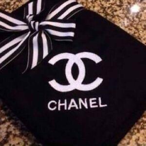 Gorgeous fleece Chanel or Victoria Secret blanket $35 each Mount Lewis Bankstown Area Preview