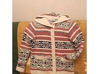 Ladies chunky knitted Per Una jacket