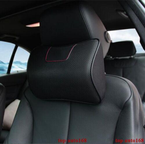 For Ford Explorer 2011-2017 Ergonomic Genuine Leather Auto Car Headrest Pillows